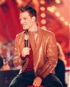 JC during the *NSYNC *NTimate Holiday special. (November 2000)