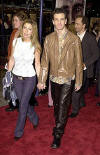 "JC & Bobbie at the Westwood premiere of the movie ""Cast Away"". (Dec. 7, 2000)"