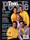 *NSYNC on the cover of Teen People magazine. (March 2000)