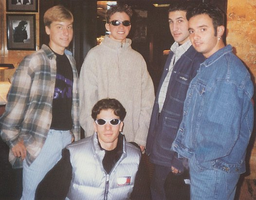 """Old School"" *NSYNC, way back in 1995."